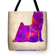 Yorkshire Terrier Poster Tote Bag by Naxart Studio