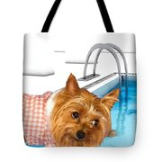 Yorkshire Terrier - This Is The Life Tote Bag