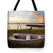 Yorktown Beach Sunset Tote Bag