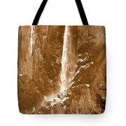 Yosemite Bridalveil Falls Tote Bag
