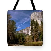 Yosemite El Capitan River Tote Bag