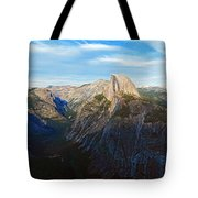 Yosemite Glacier Point Panorama Tote Bag