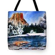 Yosemite In Winter II Tote Bag