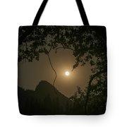 Yosemite Moonrise Tote Bag