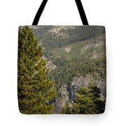 Yosemite Mountain High Tote Bag
