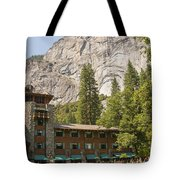 Yosemite National Park Lodging Tote Bag