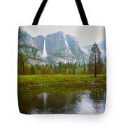 Yosemite Rain Tote Bag