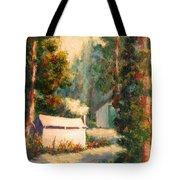 Yosemite Tent Cabins Tote Bag