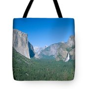 Yosemite Valley Tote Bag by David Davis