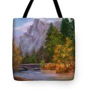 Yosemite Valley Half Dome Tote Bag