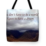 You Do Not Have To Be Tote Bag