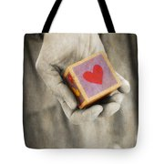You Hold My Heart In Your Hand Tote Bag