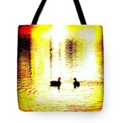 You Light Up My Life, We Shall Swim Together Forever   Tote Bag