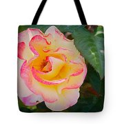 You Love The Roses - So Do I Tote Bag by Christine Till