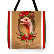 You Only Love Us For Our Breasts Christmas Card Tote Bag