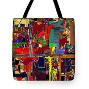 You Saw No Picture 12 Tote Bag by David Baruch Wolk