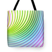 You Spin Me Round Tote Bag
