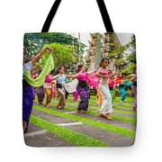 Young Bali Dancers - Indonesia Tote Bag