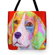Young Beagle  Tote Bag