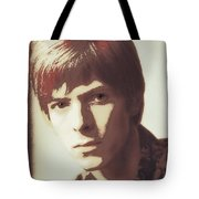 Young Bowie Pop Art Tote Bag