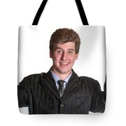 Young Business Man  Tote Bag