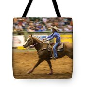 Young Cowgirl Tote Bag