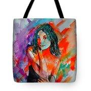 Young Girl 52622 Tote Bag
