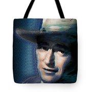 Young John Wayne Pop 2 Tote Bag