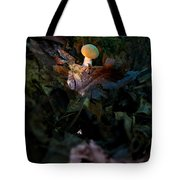 Young Lonely Mushroom Tote Bag