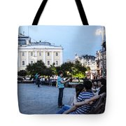 Young Lovers And Other Strangers - Moscow- Russia Tote Bag
