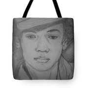 Young Michael Jackson Tote Bag