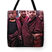 Young Monks II Tote Bag