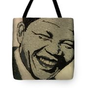 Young Nelson Mandela Tote Bag