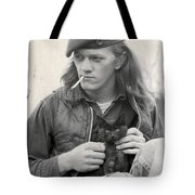 Young Pete Tote Bag
