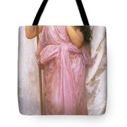 Young Priestess Tote Bag