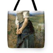 Young Shepherdess Tote Bag