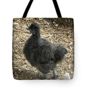 Young Silkie Strutting Tote Bag