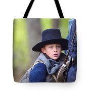 Young Solider Tote Bag