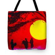 Young Warriors Tote Bag