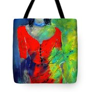 Young Woman 6431 Tote Bag
