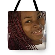 Young Woman Costa Rica Tote Bag