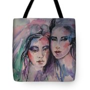 Young Women  Tote Bag