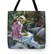 Young Writer Tote Bag