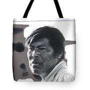 Young Yaqui Man New Pascua Arizona 1969 Tote Bag