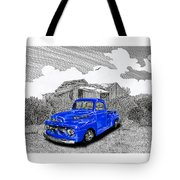 Your 1952 F 100 Pick Up In N M  Tote Bag