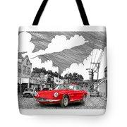 Your Ferrari In Tularosa N M  Tote Bag