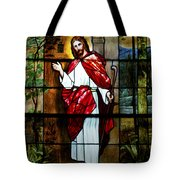 Your Shepherd Is Knocking Tote Bag