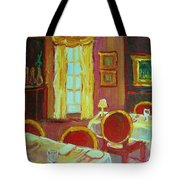 Your Table Awaits Tote Bag