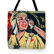 Your Thirst Takes Wings Tote Bag
