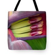 Your Treasure - Mai'a Maoli - Tropical Hawaiian Banana Flower  Tote Bag